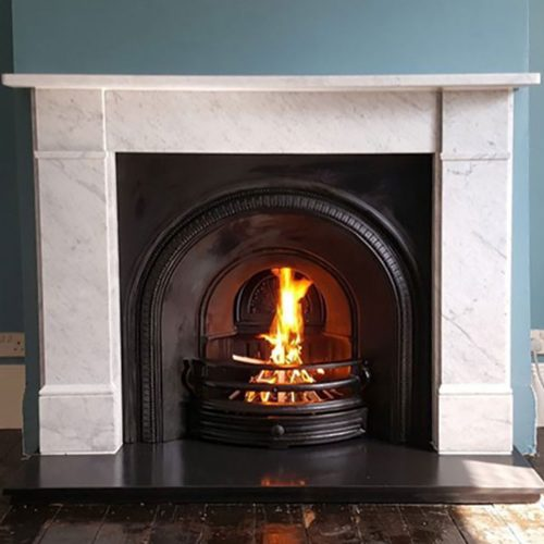 Fireplace chimney sweep and cctv inspection in East Dulwich London