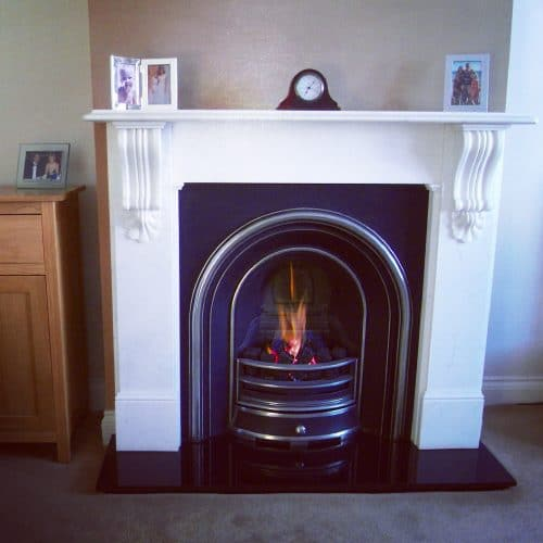 Gas Fire Sweep and Service